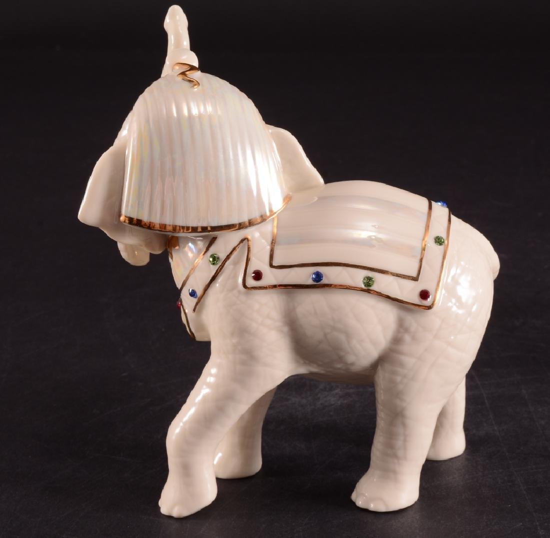Lenox Elephants Of The Nile Porcelain Figurines - 3