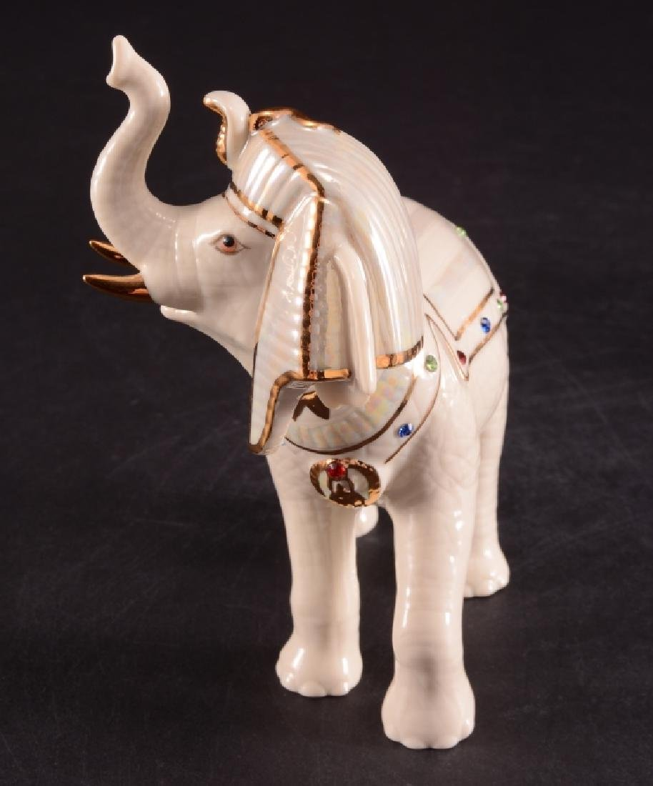 Lenox Elephants Of The Nile Porcelain Figurines - 4