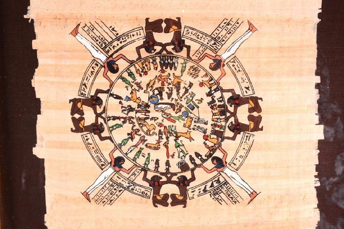 Egyptian Calendar Papyrus Art - 2