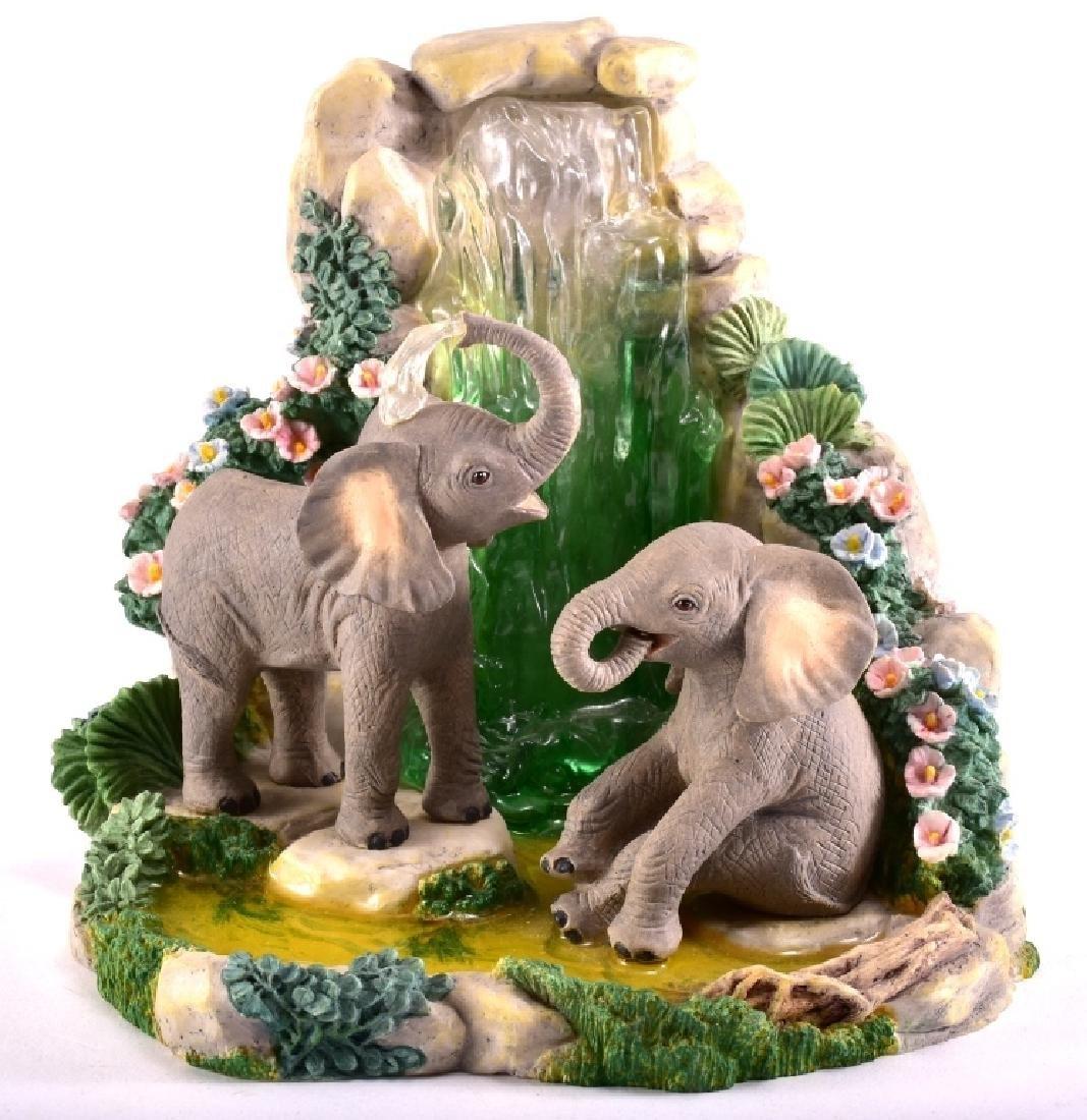 "Lenox ""Elephant Playground"" Elephants Figurine"