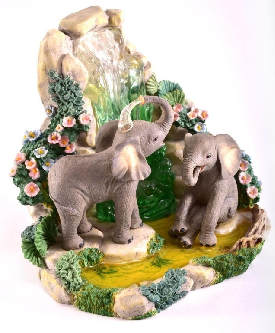 "Lenox ""Elephant Playground"" Elephants Figurine - 2"