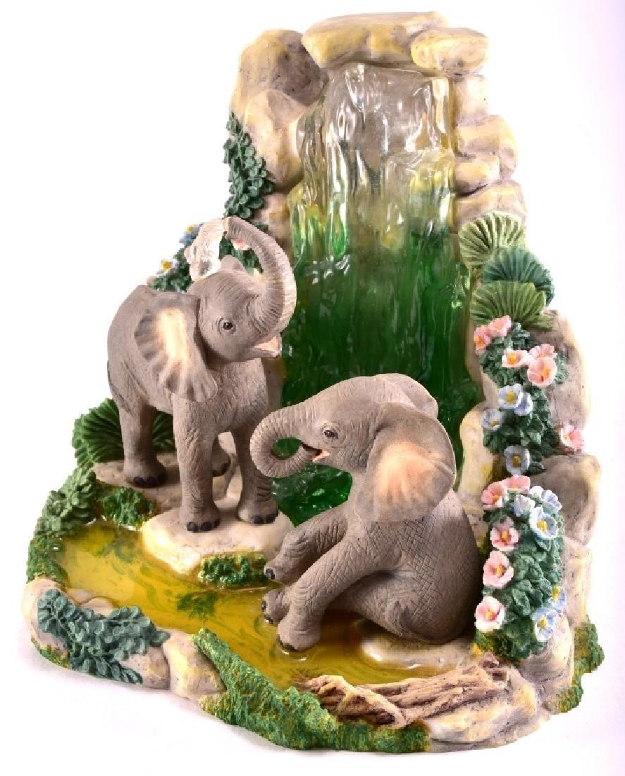 "Lenox ""Elephant Playground"" Elephants Figurine - 3"