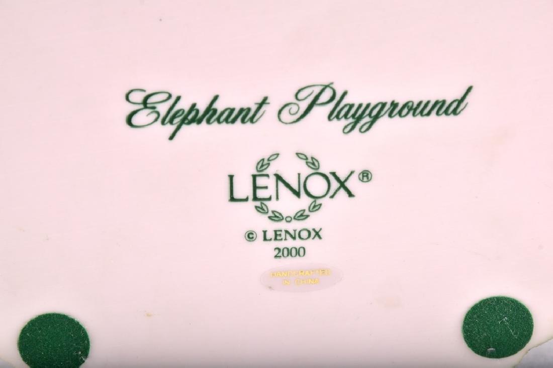 "Lenox ""Elephant Playground"" Elephants Figurine - 5"