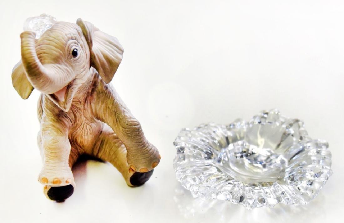 Lenox Elephant Figurine on Crystal Base - 5