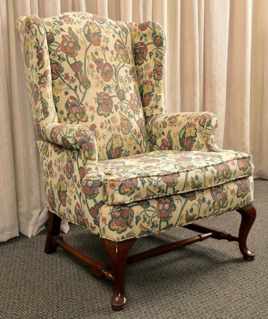 Queen Anne Wing Chair - 2