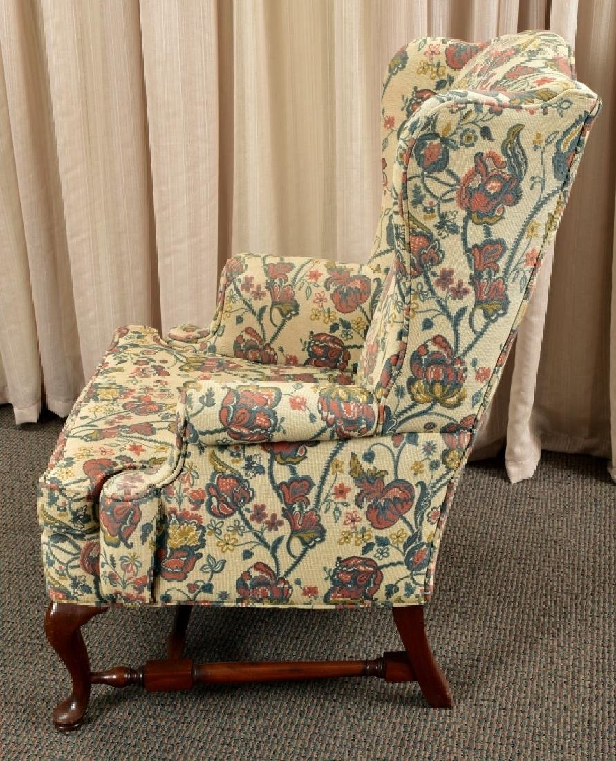 Queen Anne Wing Chair - 4