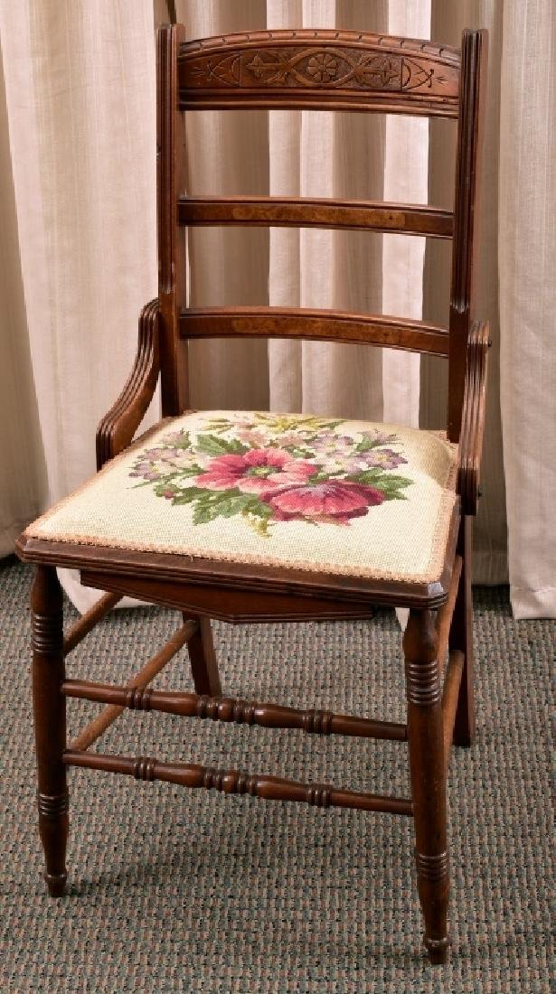 Victorian Eastlake Side Chair