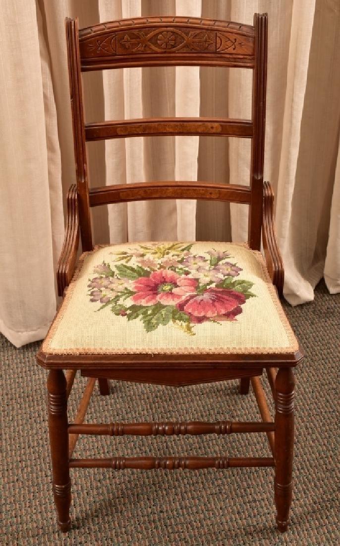 Victorian Eastlake Side Chair - 2
