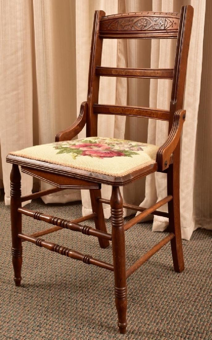 Victorian Eastlake Side Chair - 3