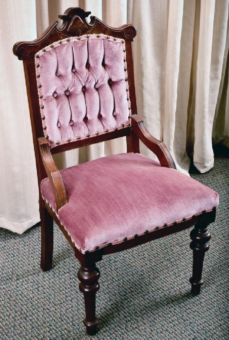 Victorian Renaissance Revival Side Chair