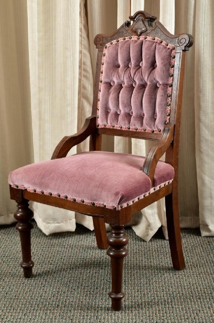 Victorian Renaissance Revival Side Chair - 2