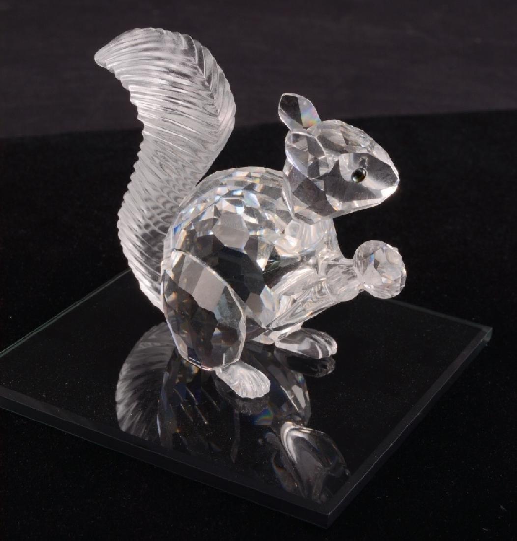Swarovski 1997 Squirrel 10th Anniversary