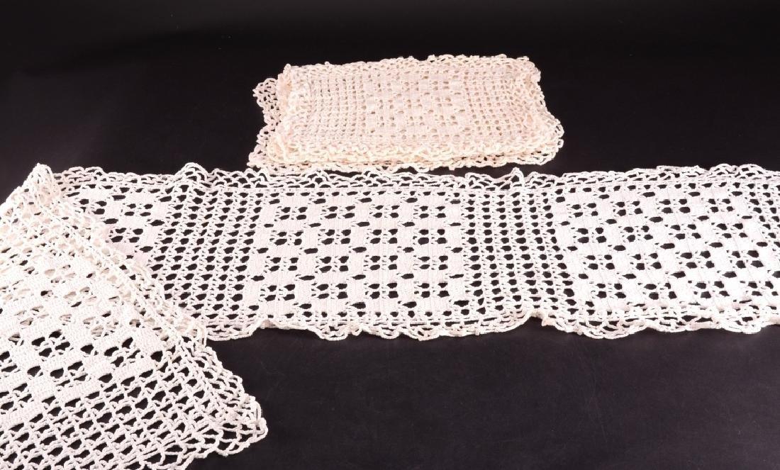 Crochet Table Runner & Placemats