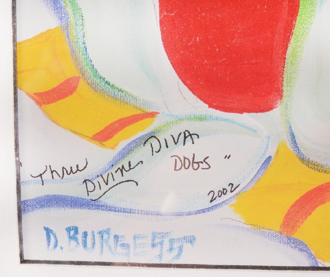 """Donna Burgess """"3 Divas"""" Print - 3"""