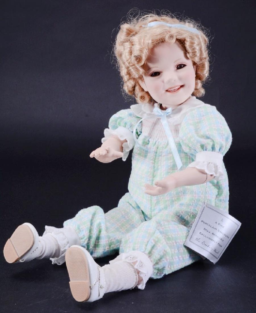"Danbury Mint 17"" Shirley Temple Doll"