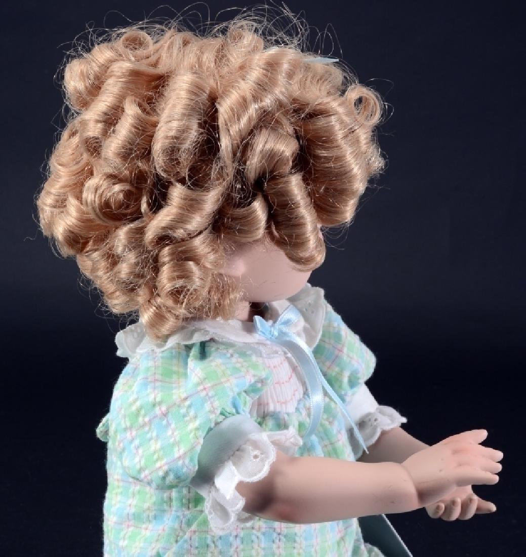 "Danbury Mint 17"" Shirley Temple Doll - 3"