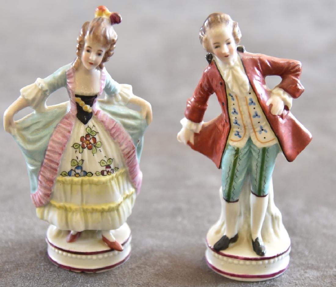 Ceramic Victorian Couple Figurines