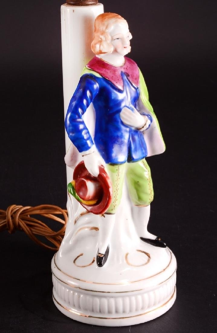 Pair of Vintage Ceramic Vanity Lamps - 3