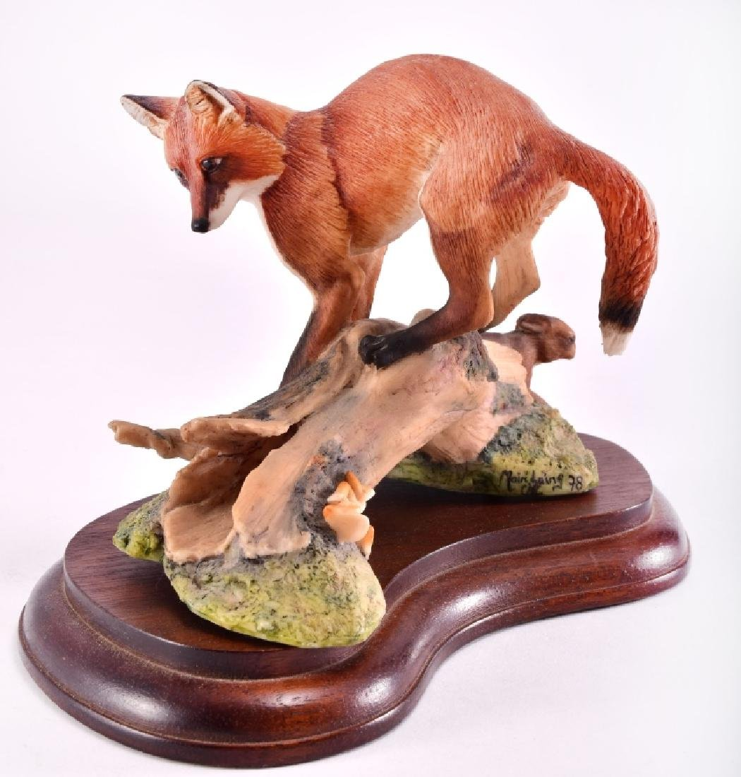 Border Fine Arts Fox & Rabbit Figurine