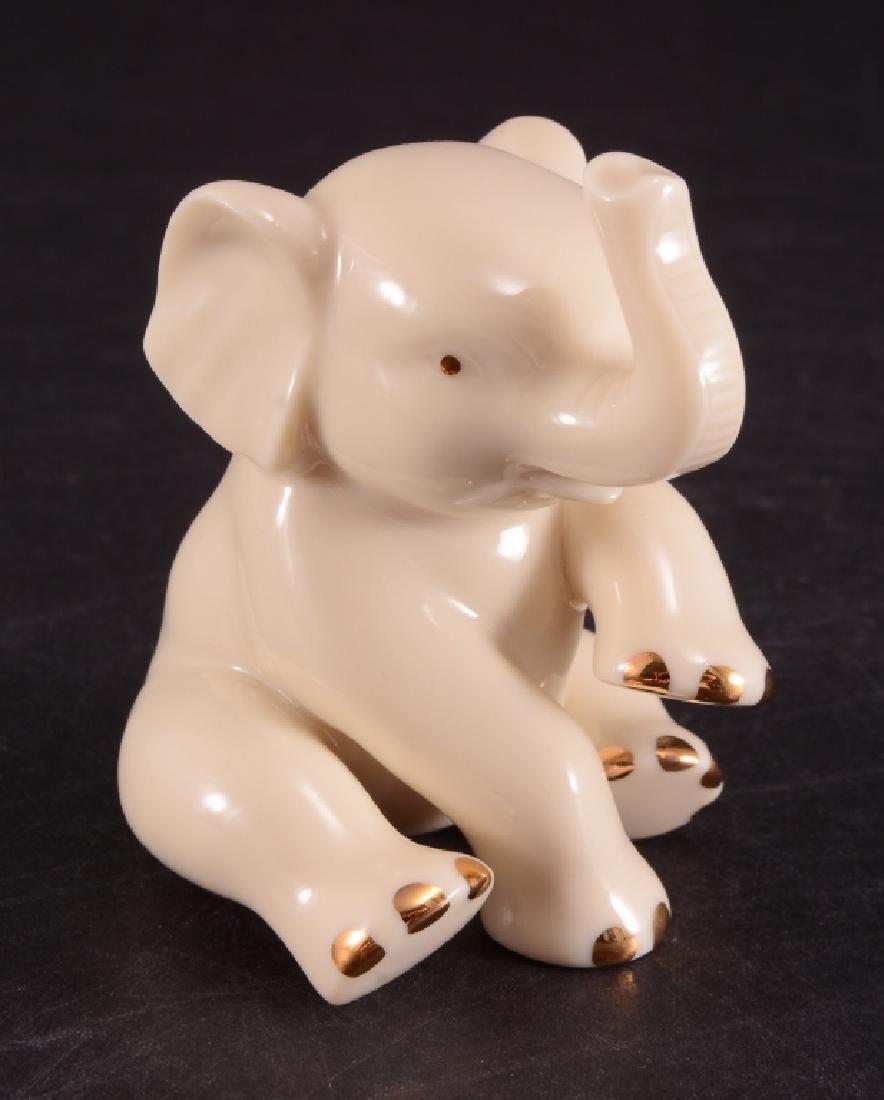 Lenox Sitting Elephant Miniature Figurine - 2
