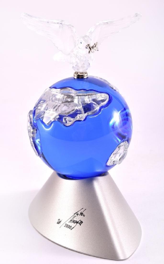 2000 Swarovski Crystal Planet Figurine - 2