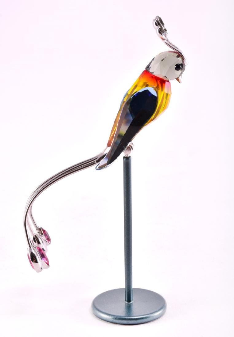 "Swarovski ""Banamba"" on Stand Crystal Figurine - 4"