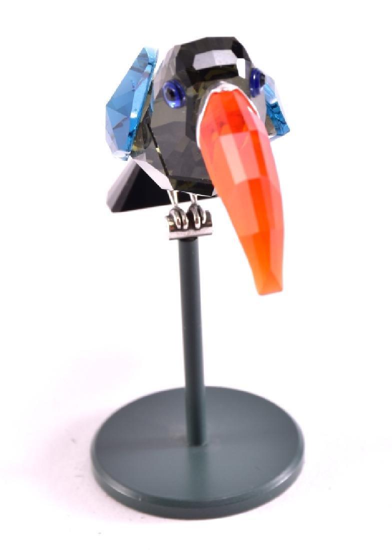 """Swarovski """"Bamba"""" Black Diamond Figurine - 4"""