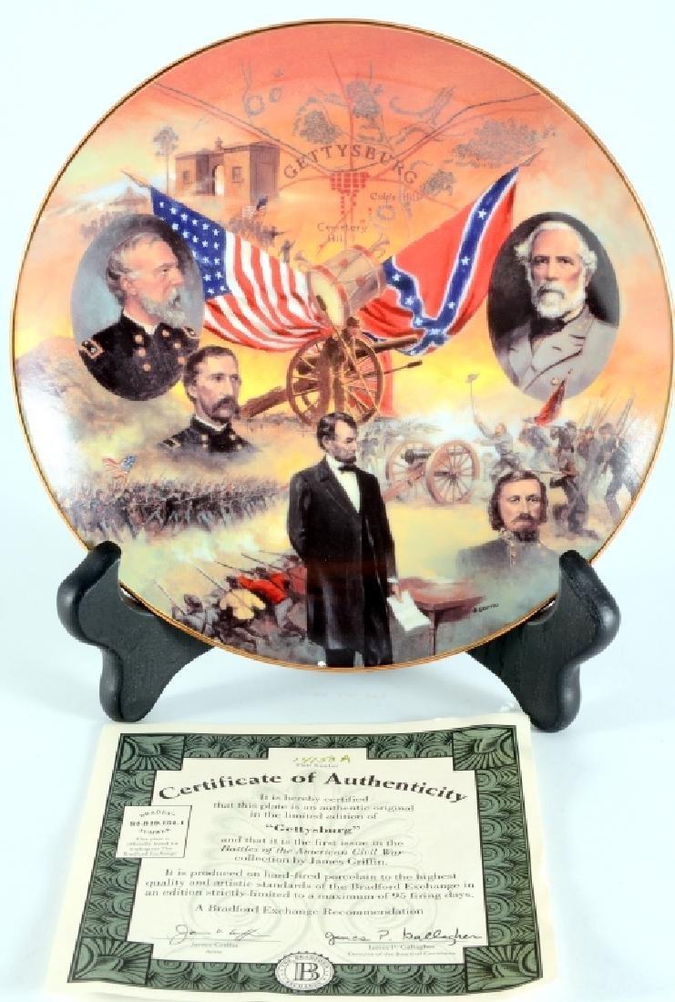 """Gettysburg"" Collector Plate"