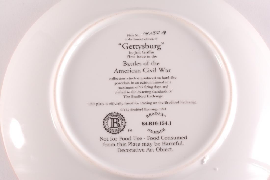 """Gettysburg"" Collector Plate - 3"