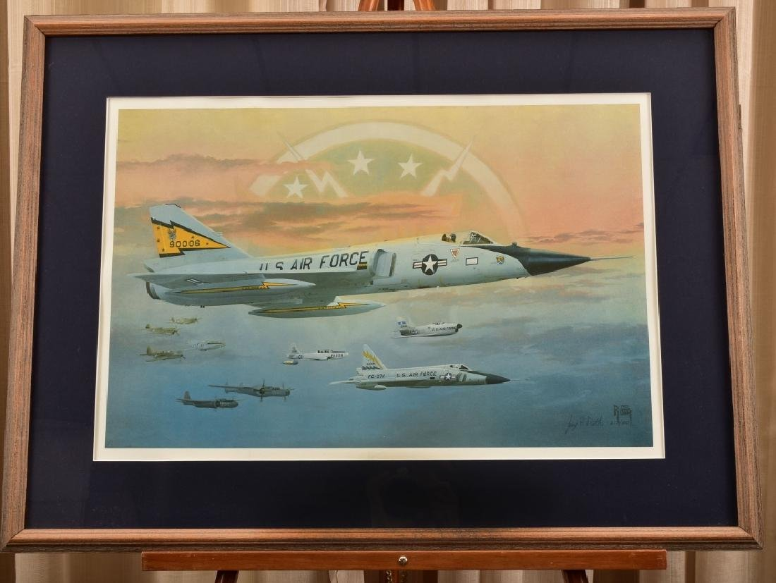 US Airforce Fighter Jets Print