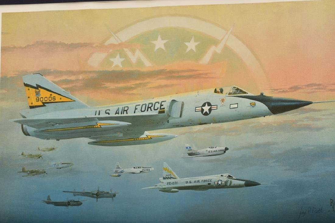 US Airforce Fighter Jets Print - 3