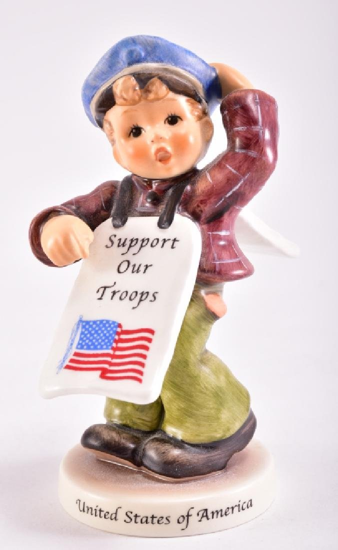"""Hummel """"Support Our Troops"""" Figurine"""