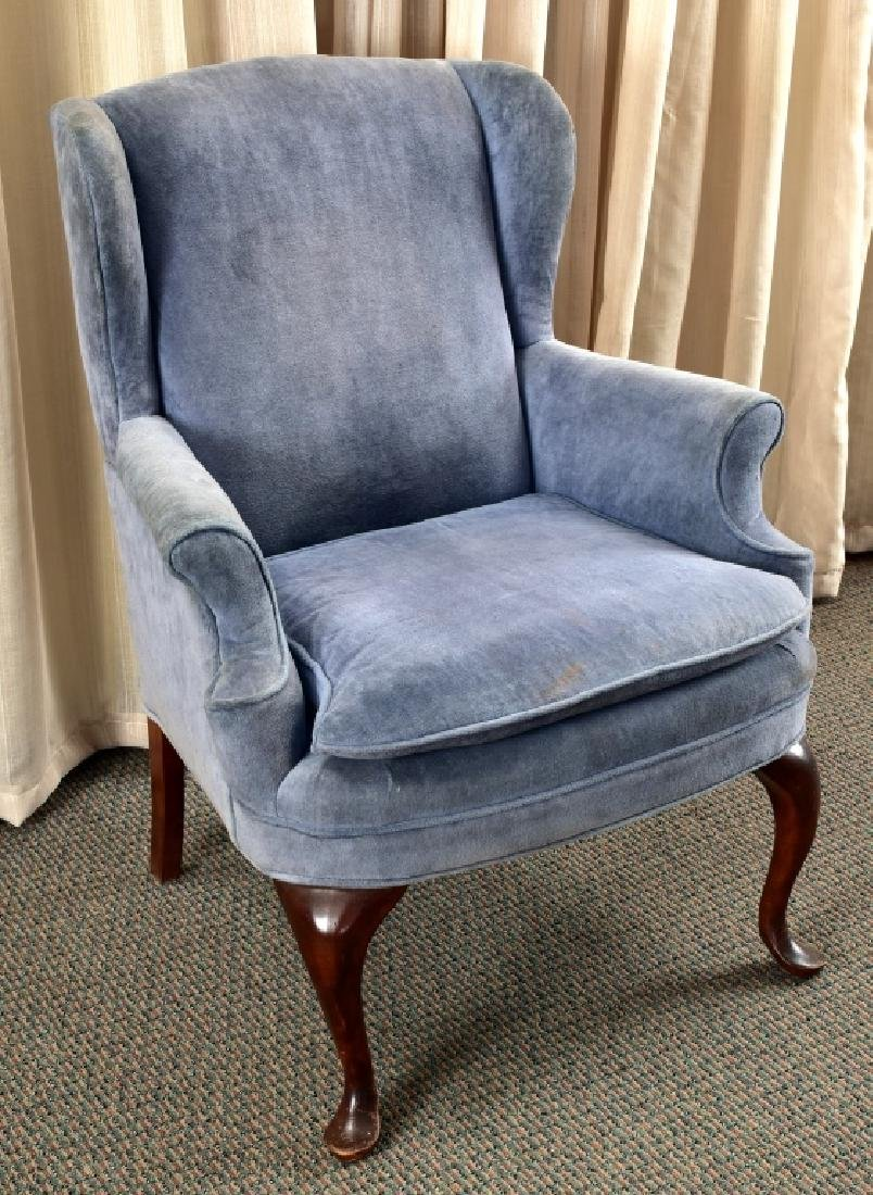 Antique Wing Small Wing Chair
