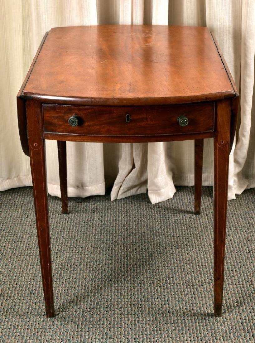 Antique Drop Leaf Table - 2