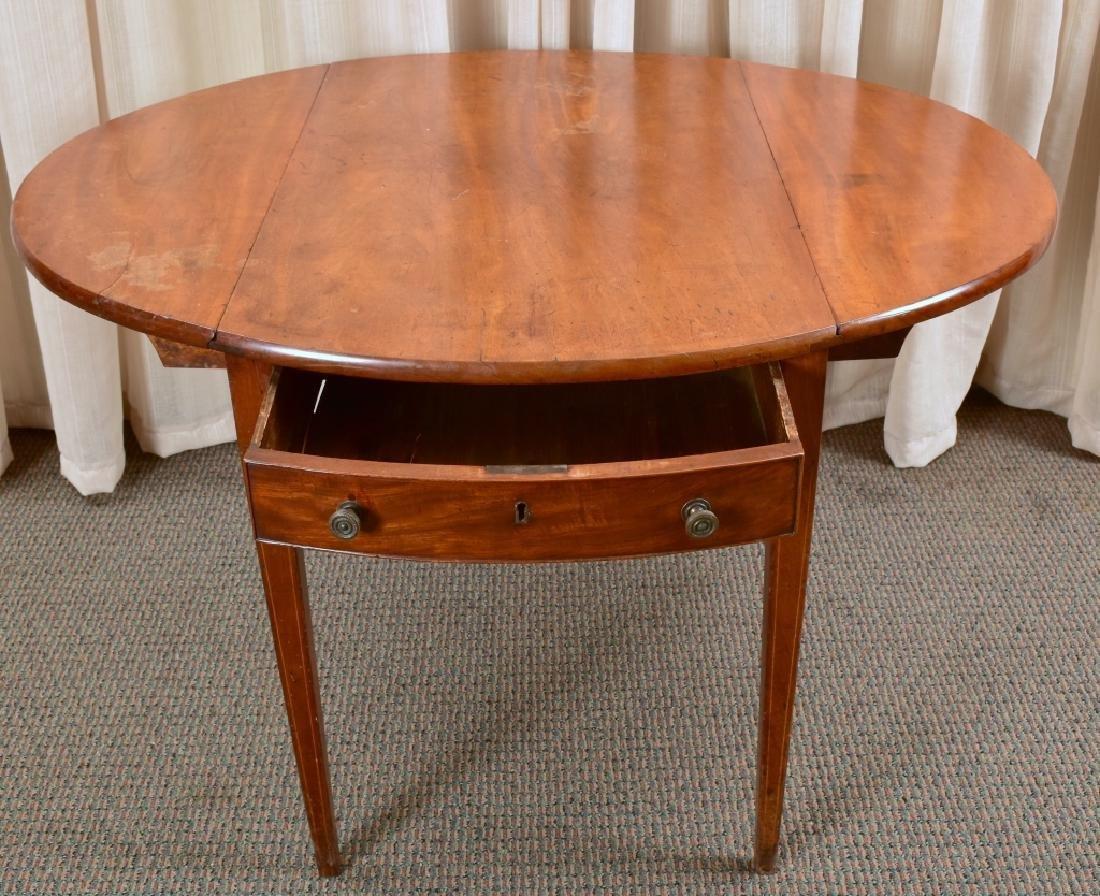Antique Drop Leaf Table - 4