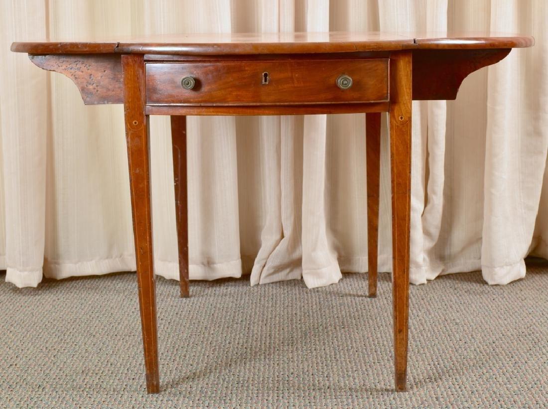 Antique Drop Leaf Table - 5
