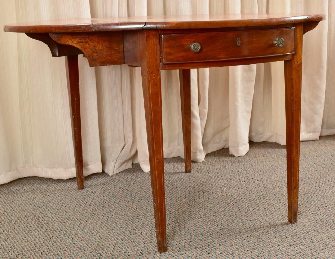 Antique Drop Leaf Table - 6
