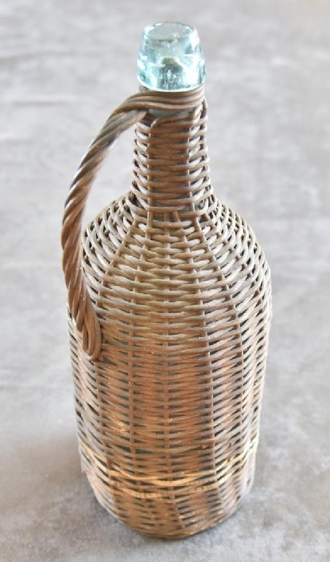 Civil War Era Wrapped Bottle - 3