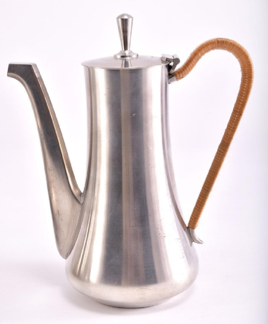 Vintage Selangor Pewter Tea Set & Tray - 2