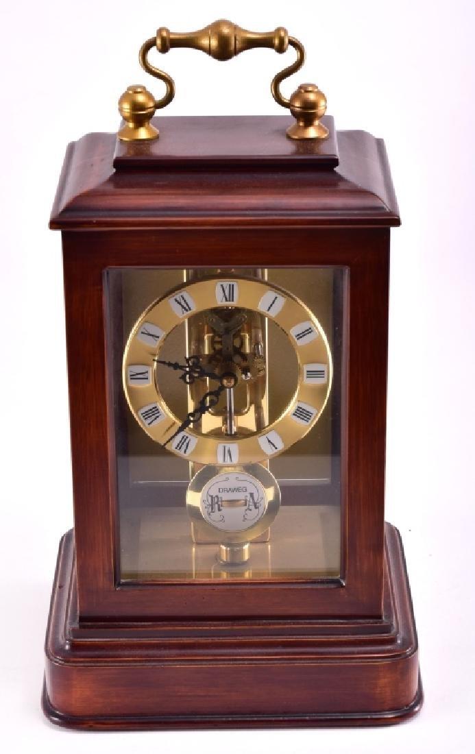 S. Heller DRAWEG Mantle Clock