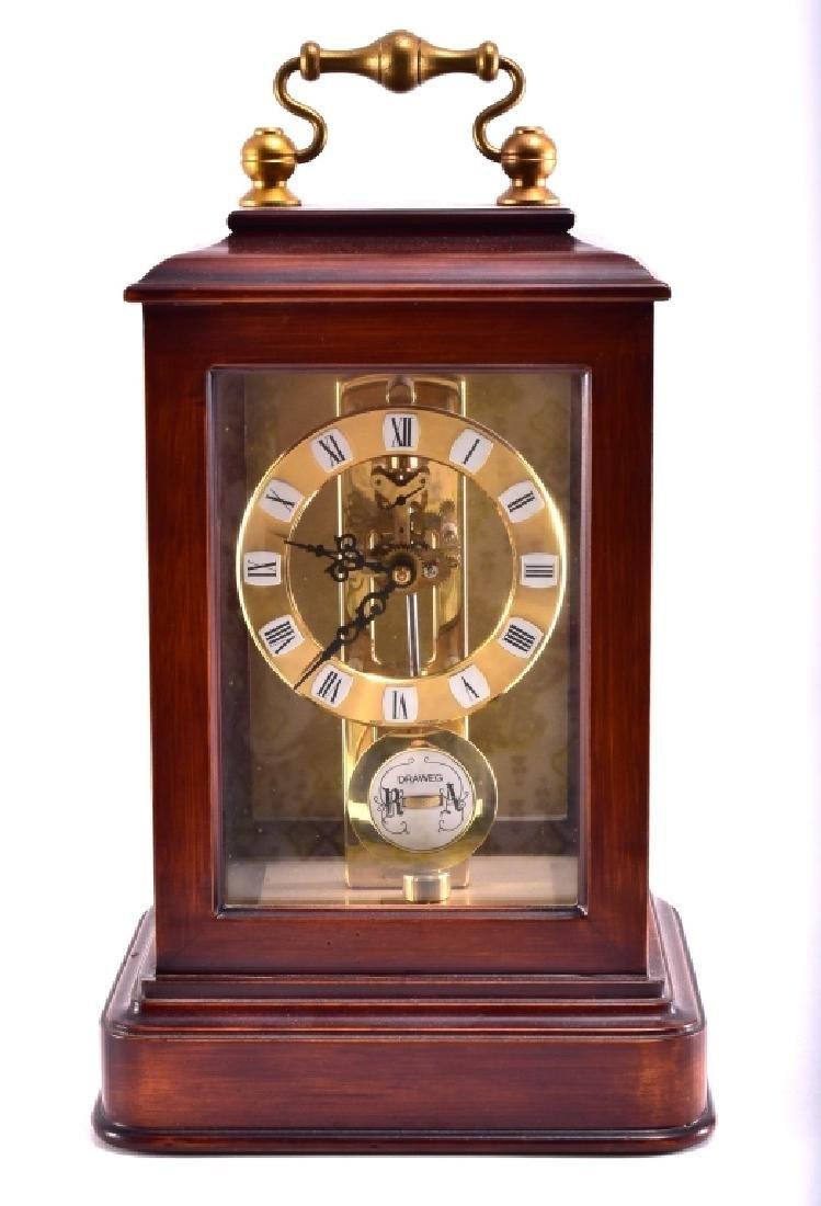 S. Heller DRAWEG Mantle Clock - 3