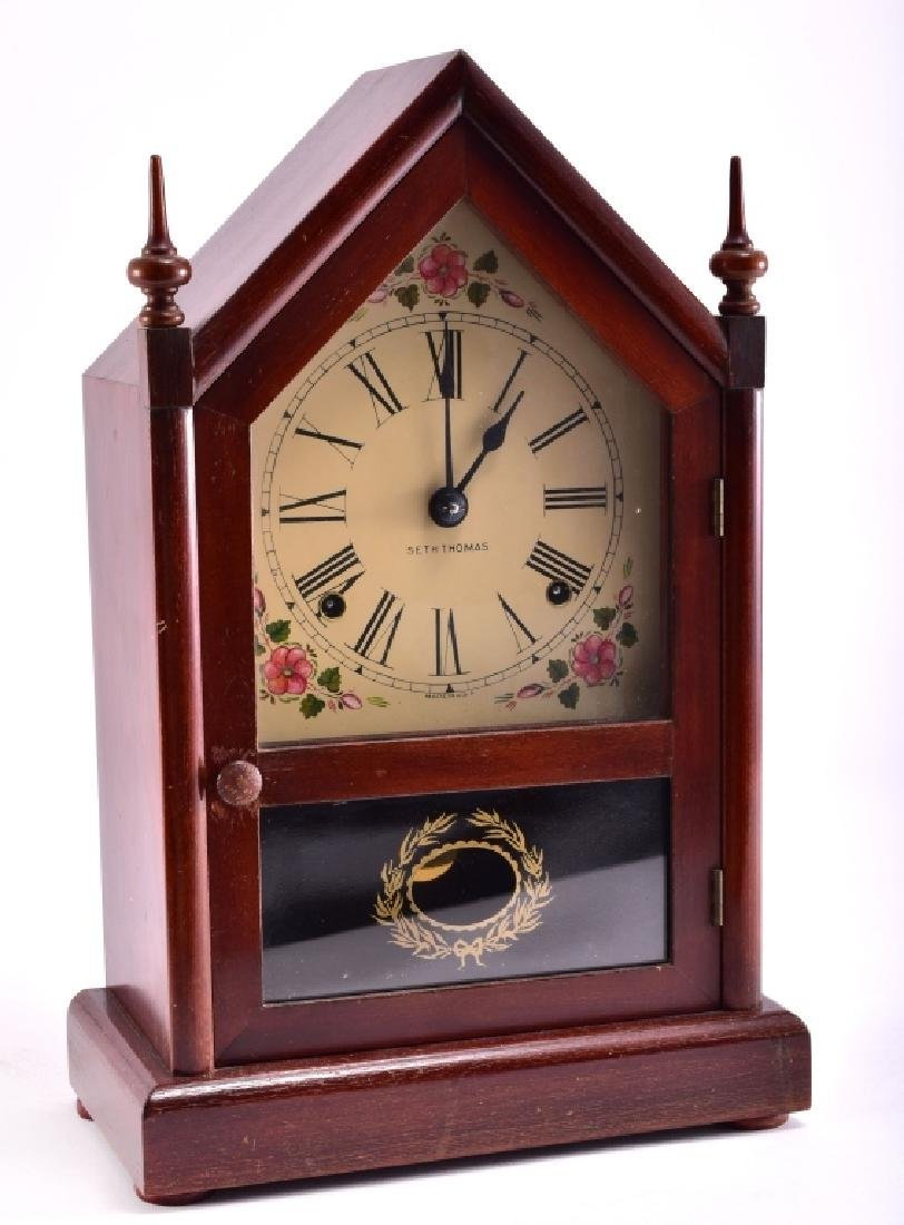 Seth Thomas Cathedral Mantle Clock - 2