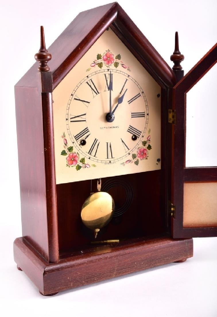 Seth Thomas Cathedral Mantle Clock - 3