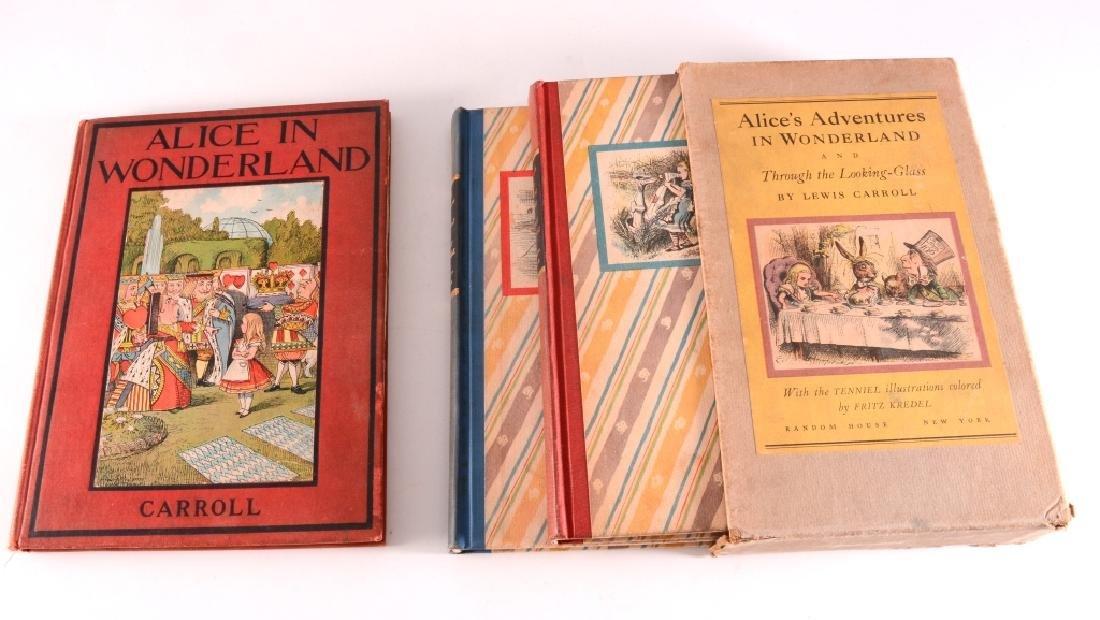 William Carroll's Alice in Wonderland Books