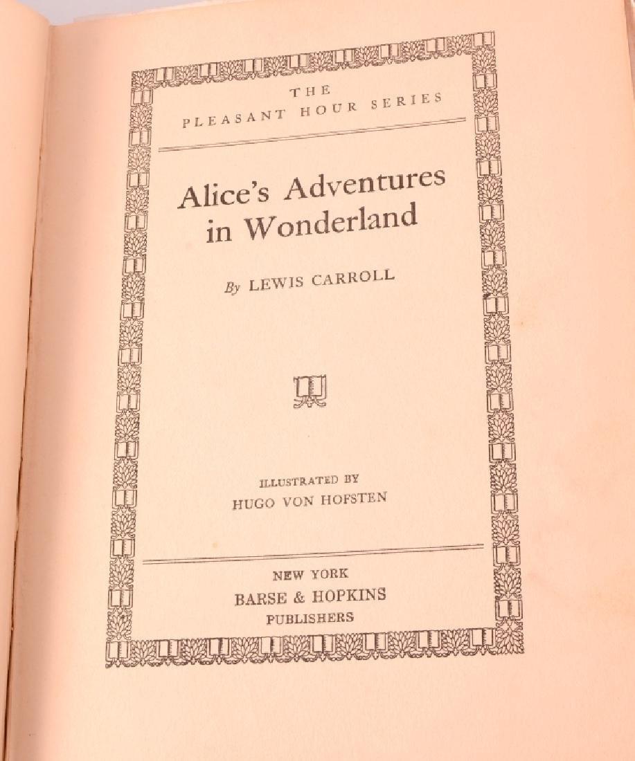 William Carroll's Alice in Wonderland Books - 3