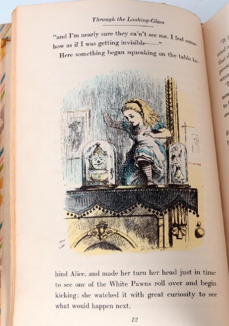 William Carroll's Alice in Wonderland Books - 5