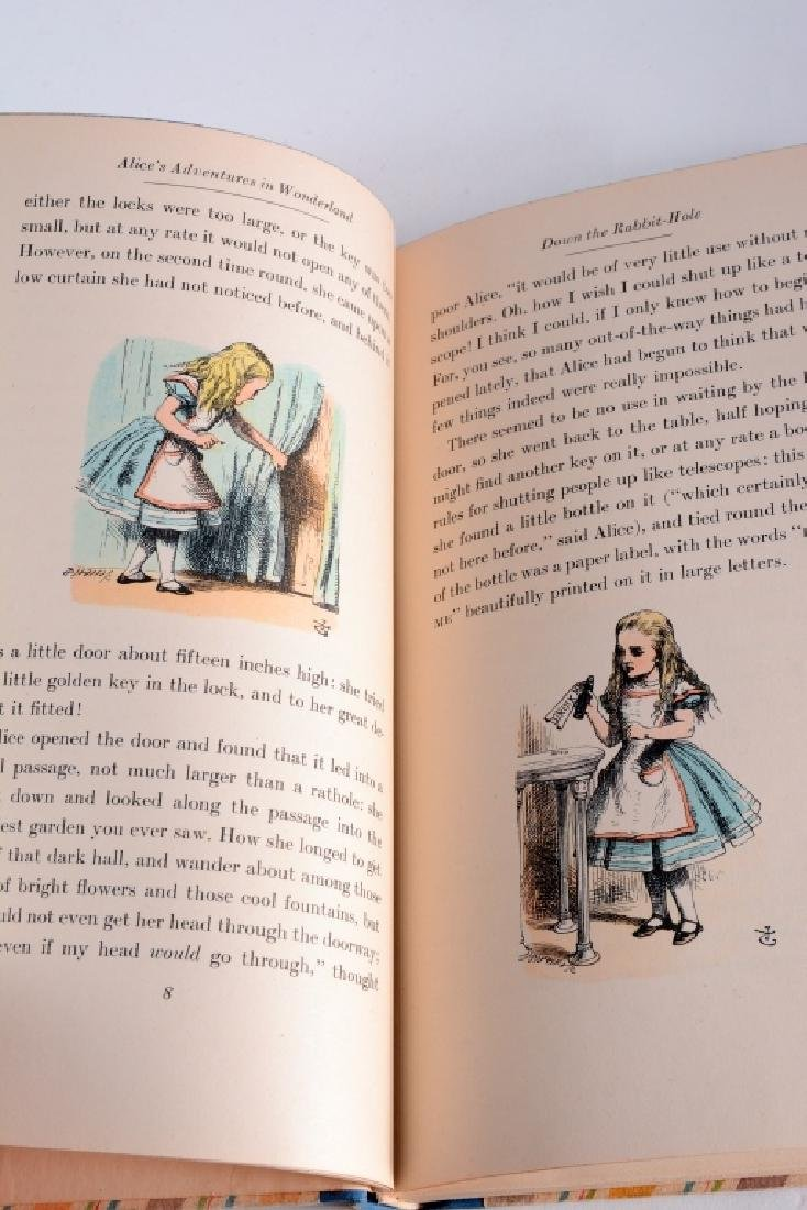 William Carroll's Alice in Wonderland Books - 6