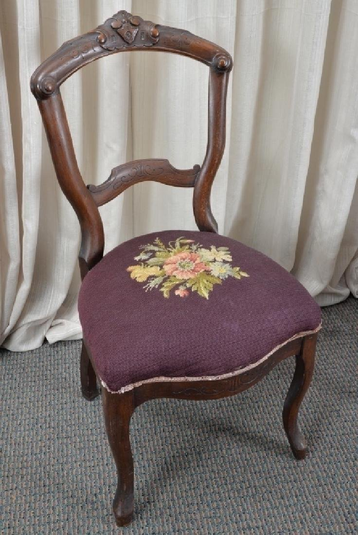 Pair of Victorian Side Chairs - 2
