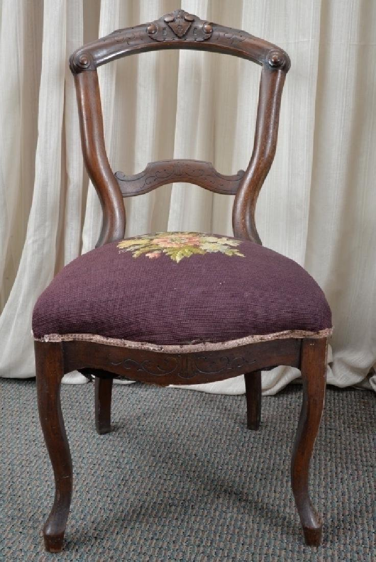 Pair of Victorian Side Chairs - 3