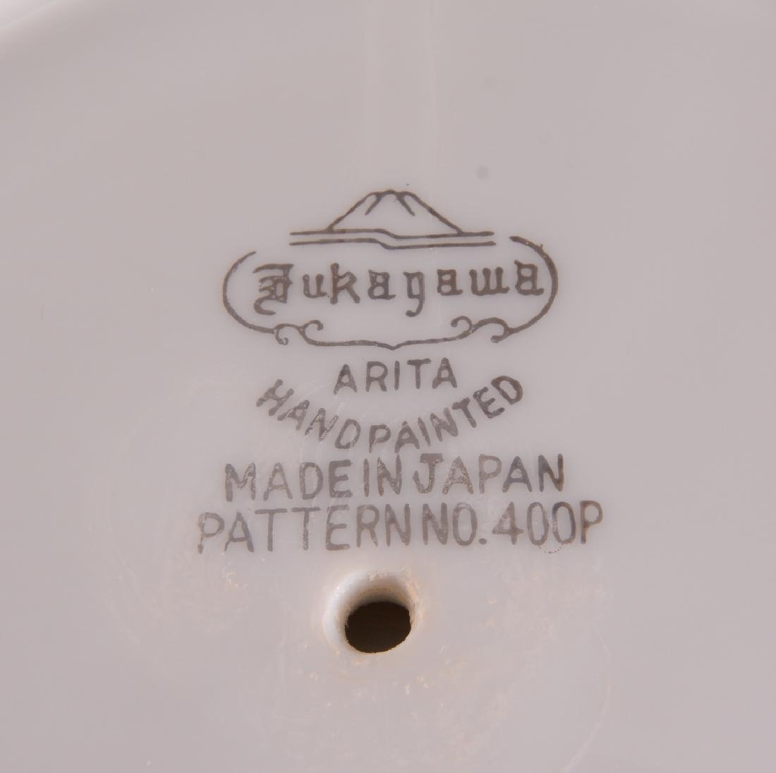 "9 Fukagawa ""Arita"" China Serving Pieces - 5"